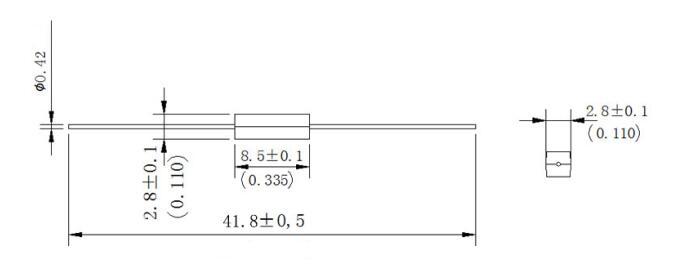 at值范围  pull-in sensitivity 10-15 注:可以根据客户选定的干簧管
